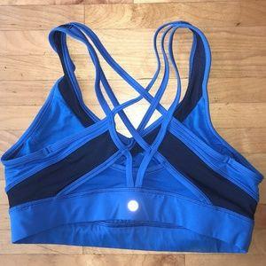 lululemon sports bra size 10